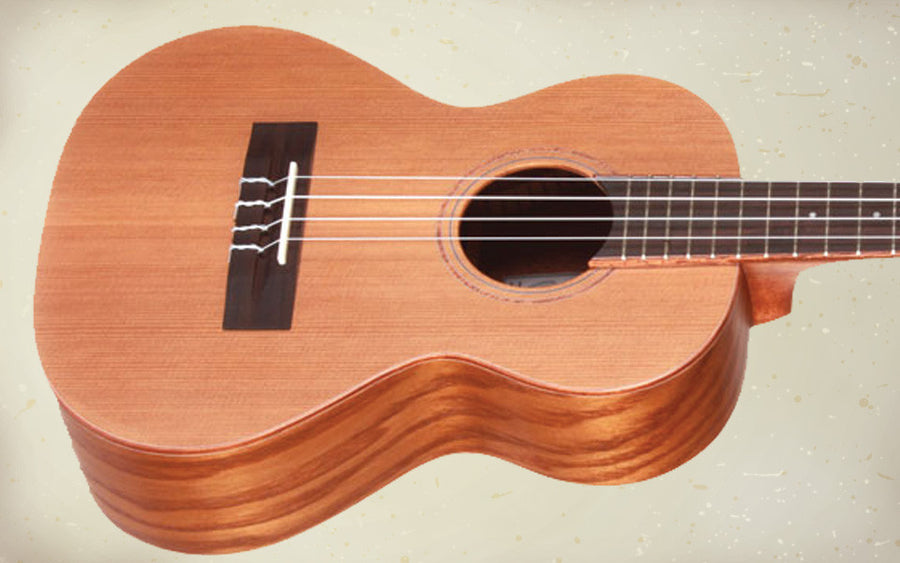 Teton TT50W Tenor Ukulele willow back and sides