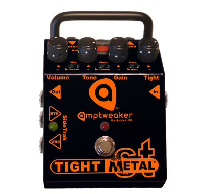 Amptweaker TightMetal ST Distortion Pedal with SideTrak Loop