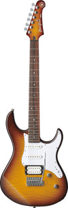 Yamaha PAC212VFM Tobacco Brown Flame Maple Double Cutaway Electric Guitar