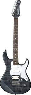 Yamaha PAC212VFM Trans Black Flame Maple Double Cutaway Electric Guitar