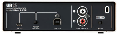 Steinberg UR12 2x2 USB 2.0 Audio Interface w/1x D-PRE and 192 kHz Support