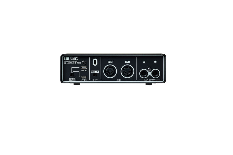 Steinberg UR22c 2x2 USB 3.0 Type C Audio Interface