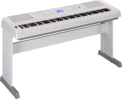 Yamaha DGX660 88 Key Portable Grand Piano - White