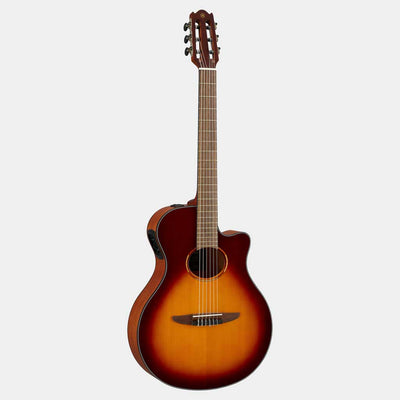 Yamaha NTX1 Acoustic Electric Nylon String Guitar Brown Sunburst