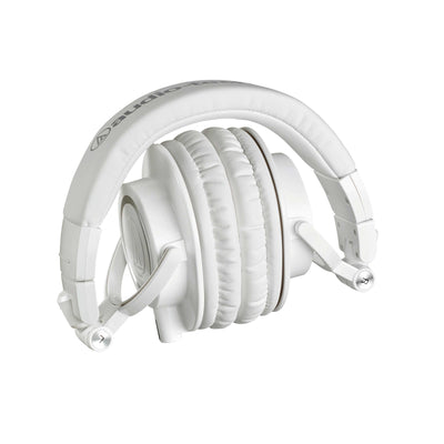 Audio Technica ATH-M50xWH Professional Monitor Headphones - White