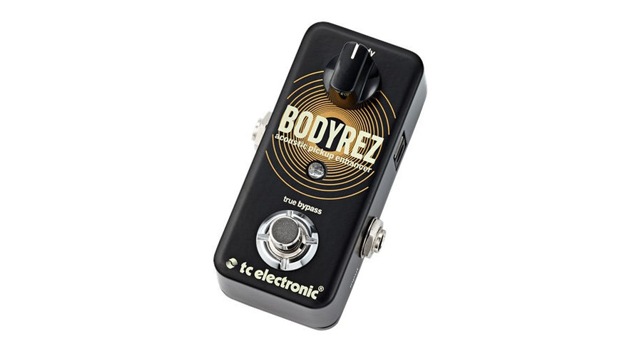 TC Electronic BodyRez Acoustic Pickup Enhancer Pedal