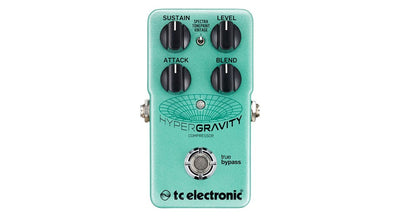 TC Electronic HyperGravity Multiband Compressor Pedal with TonePrint