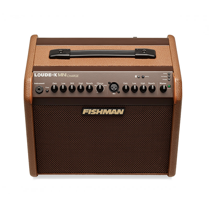 Fishman Loudbox Mini Charge 60 Watt Battery Powered Acoustic Guitar Amplifier