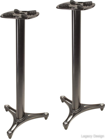 "Ultimate Support MS-90/45B Professional Column Studio Monitor Stand - 45""/Black"