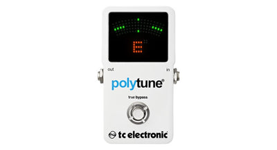 TC Electronic Polytune 2 Poly-Chromatic Pedal Tuner