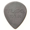 Tusq Deep Teardrop Picks - 1.00 mm 6 Pack