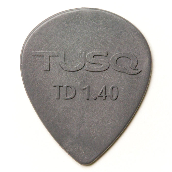 Tusq Deep Teardrop Picks - 1.40 mm 6 Pack