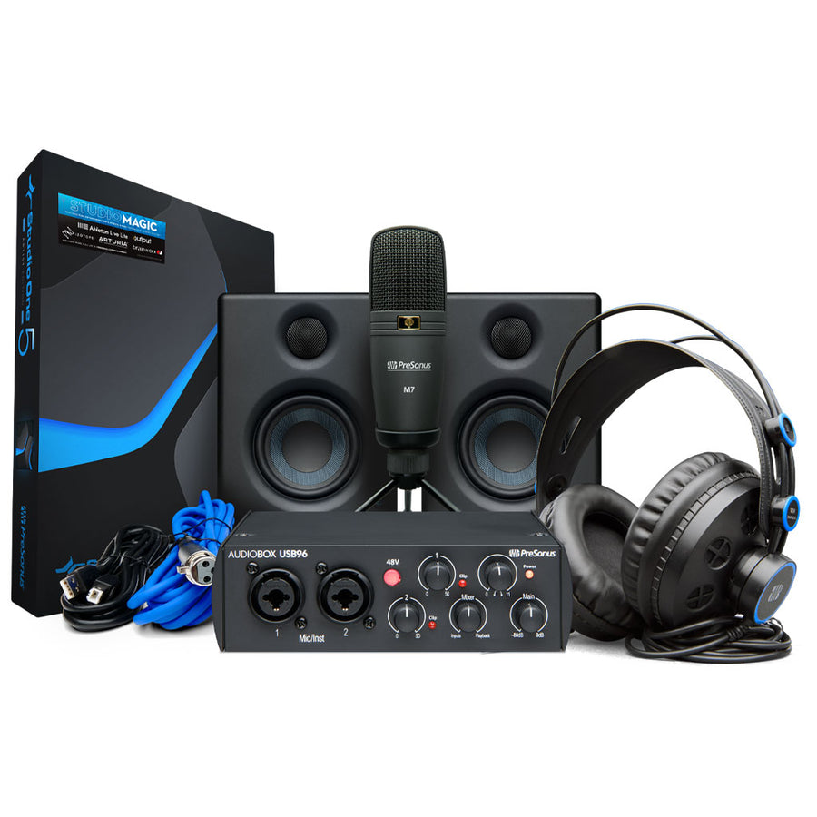 PreSonus 25th Edition AudioBox Studio Ultimate Recording Bundle