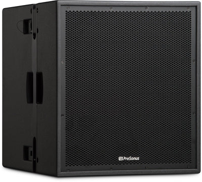 "PreSonus CDL18S 18"" 2000 Watt Flyable Compact Subwoofer w/ Dante, Intergrated Rigging, and DSP"