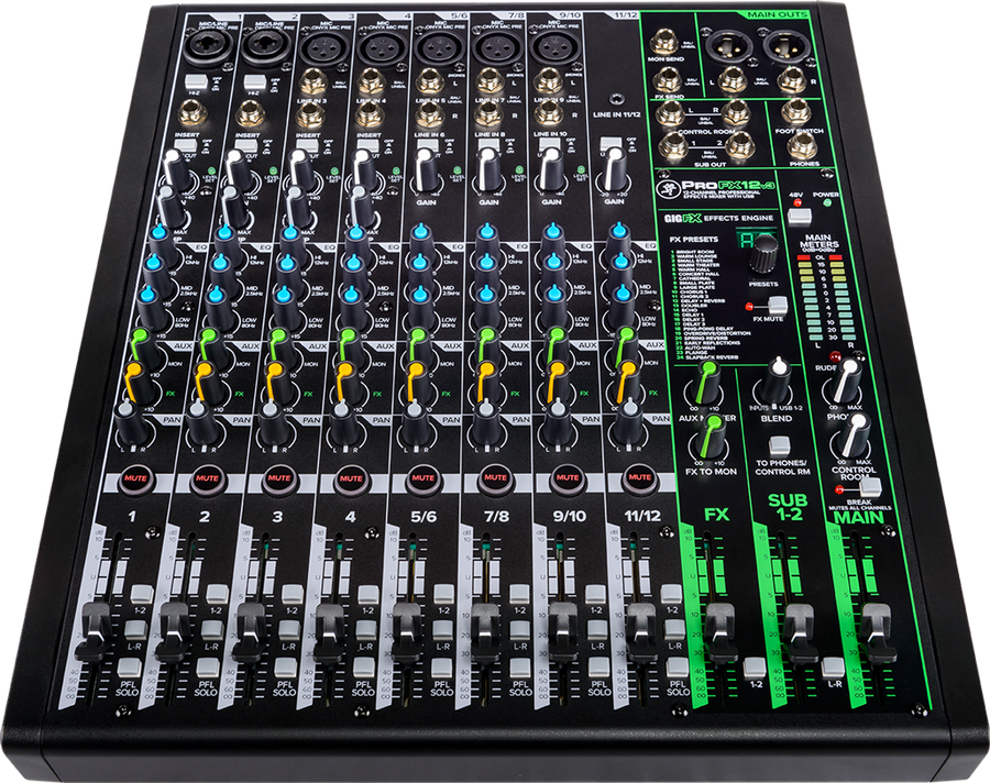 Mackie ProFX12v3 12 Channel Mixer w/ Built-in Effects