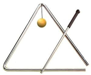 "Toca 8"" Triangle with Striker"