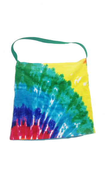 Towel Bags - Multi Tie Dye Bags - Kiki's Nation