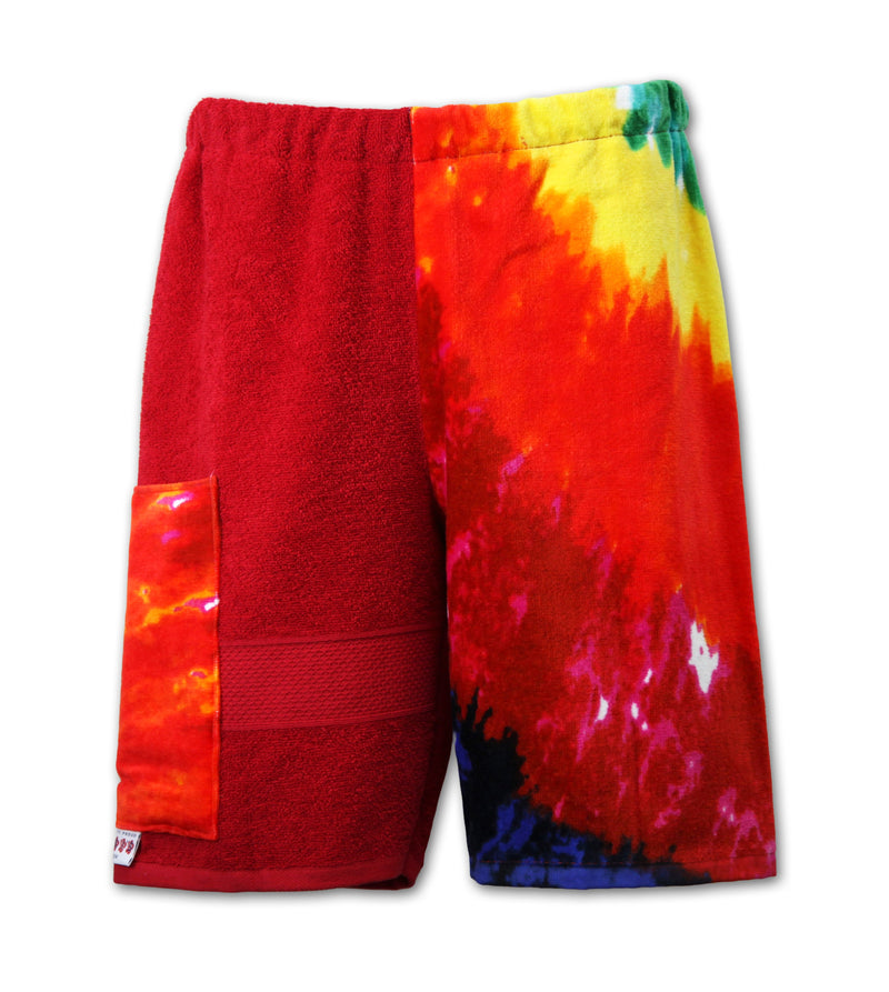 Multi Tie Dye | Red