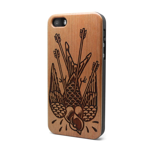 Bird Arrow - iPhone Case - Custom Flesh Plugs & Gauges, Alternative, Tattoo - Phone Cases - 1