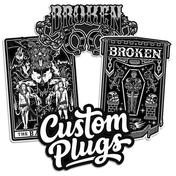 Chains - Sticker Pack - Custom Flesh Plugs & Gauges, Alternative, Tattoo - Stickers - 1