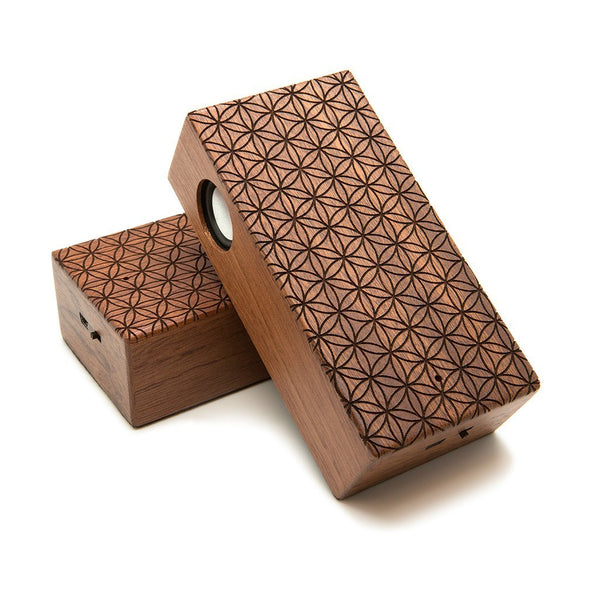 Flower Of Life Wireless Speaker Box - Custom Flesh Plugs & Gauges, Alternative, Tattoo - Speaker - 1