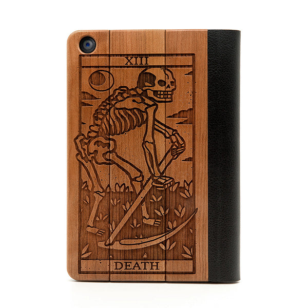 Death Tarot iPad Mini Case - Custom Flesh Plugs & Gauges, Alternative, Tattoo - iPad Case - 1