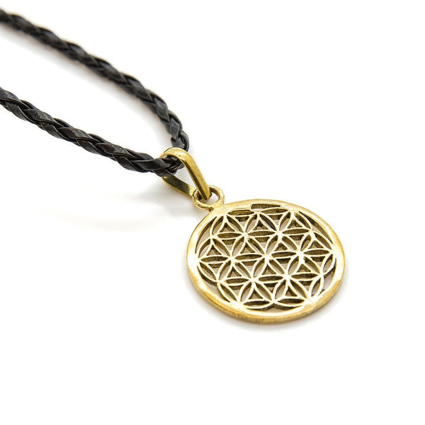 Flower Of Life Necklace - Custom Flesh Plugs & Gauges, Alternative, Tattoo - Accessories - 1