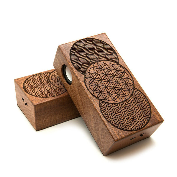 Geo Circles Wireless Speaker Box - Custom Flesh Plugs & Gauges, Alternative, Tattoo - Speaker - 1