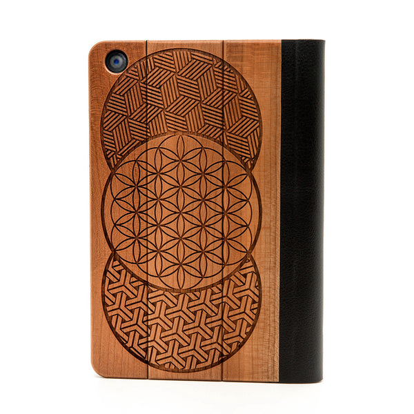 Geo Circles iPad Mini Case - Custom Flesh Plugs & Gauges, Alternative, Tattoo - iPad Case - 1
