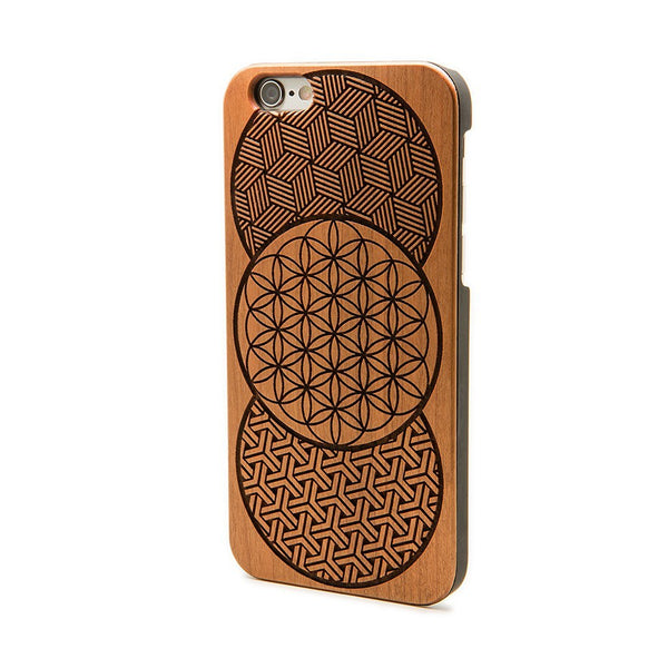 Geo Circles - iPhone Case - Custom Flesh Plugs & Gauges, Alternative, Tattoo - Phone Cases - 1