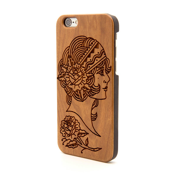 Gypsy Head - iPhone Case