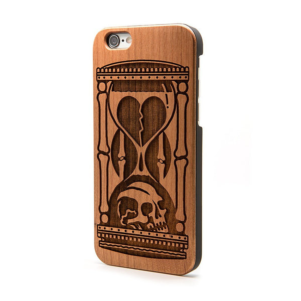 Hourglass - iPhone Case - Custom Flesh Plugs & Gauges, Alternative, Tattoo - Phone Cases - 1