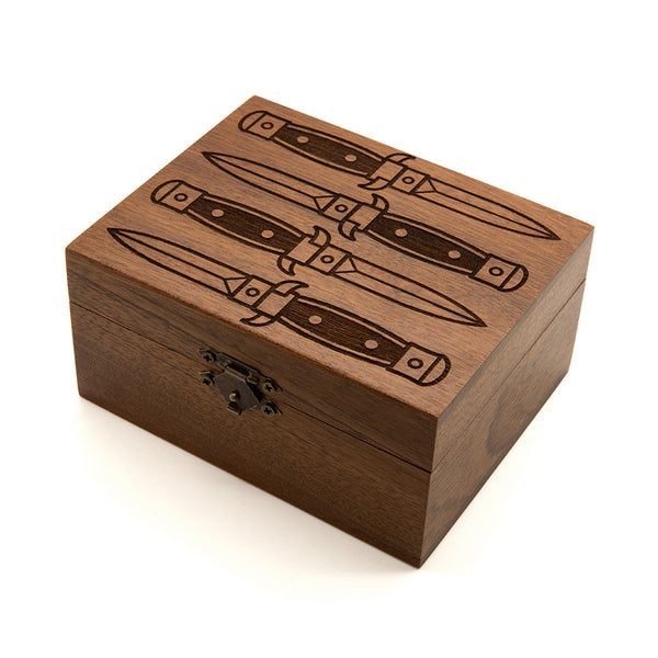 Knives - Wooden Jewellery Box