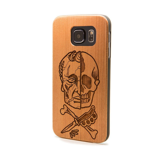 Life & Death - Samsung Galaxy Case - Custom Flesh Plugs & Gauges, Alternative, Tattoo - Phone Cases - 1