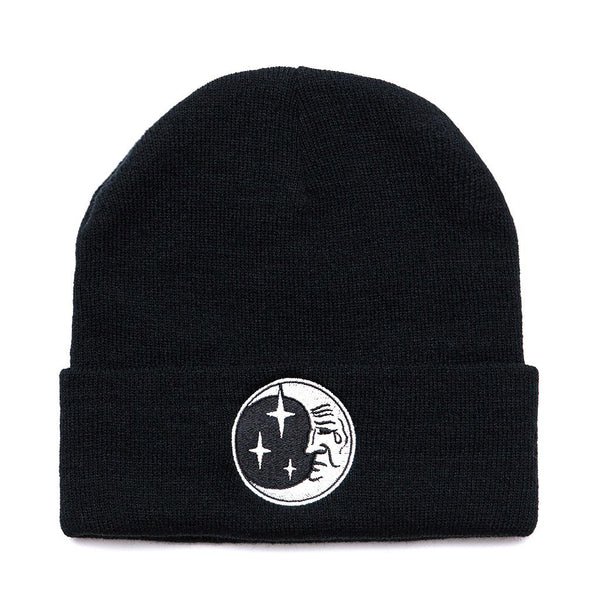 Black Moon Beanie - Custom Flesh Plugs & Gauges, Alternative, Tattoo - Beanies - 1