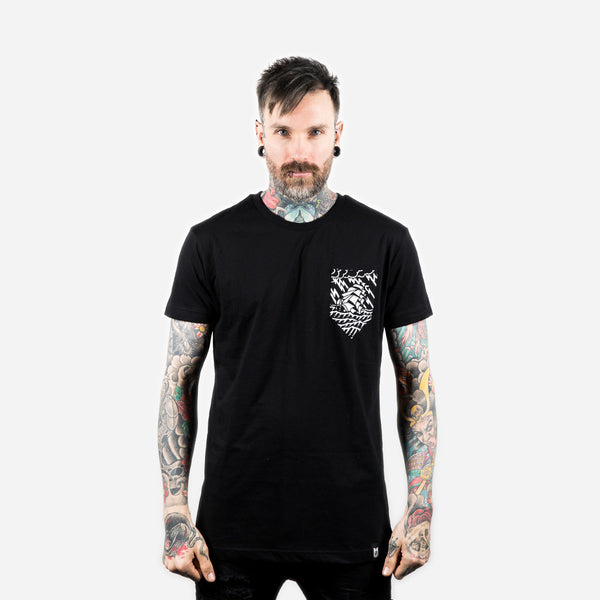 Sinking Ship Pocket T-Shirt