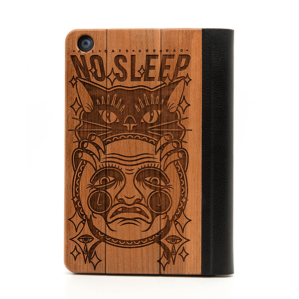 No Sleep iPad Mini Case - Custom Flesh Plugs & Gauges, Alternative, Tattoo - iPad Case - 1