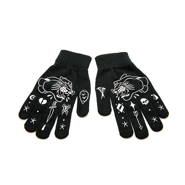 Panther Gloves - Custom Flesh Plugs & Gauges, Alternative, Tattoo - Gloves - 1