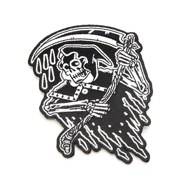 Reaper Patch - Custom Flesh Plugs & Gauges, Alternative, Tattoo - Patch - 1