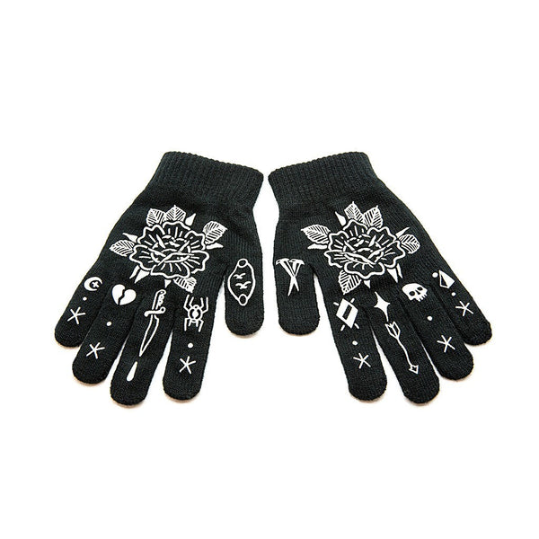 Rose Gloves - Custom Flesh Plugs & Gauges, Alternative, Tattoo - Gloves - 1