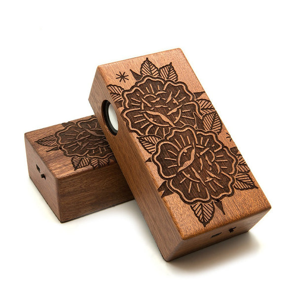 Roses Wireless Speaker Box - Custom Flesh Plugs & Gauges, Alternative, Tattoo - Speaker - 1