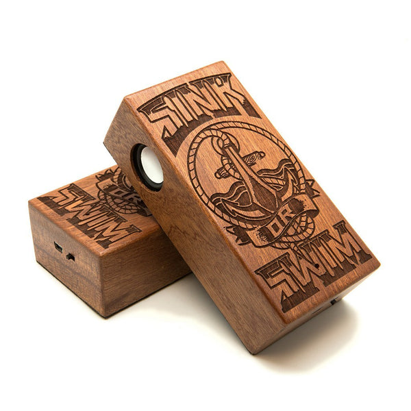 Anchor Wireless Speaker Box - Custom Flesh Plugs & Gauges, Alternative, Tattoo - Speaker - 1