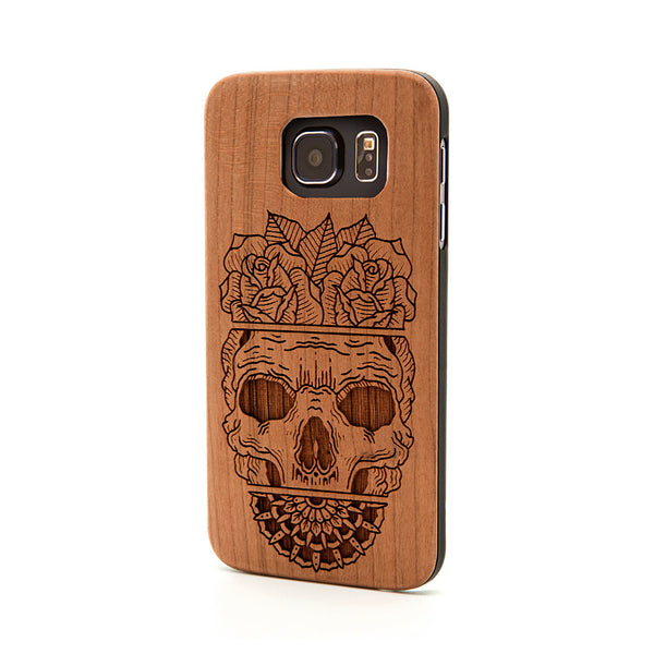 Skull Split - Samsung Galaxy Case - Custom Flesh Plugs & Gauges, Alternative, Tattoo - Phone Cases - 1