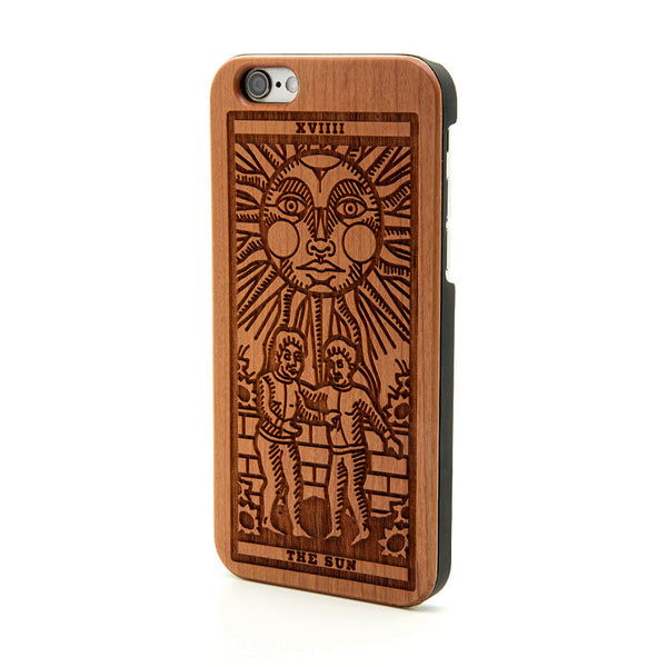 Sun Tarot Card - iPhone Case - Custom Flesh Plugs & Gauges, Alternative, Tattoo - Phone Cases - 1