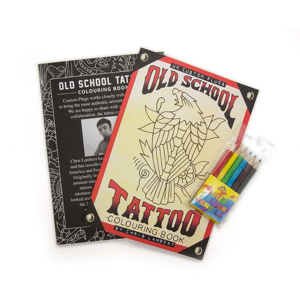 Tattoo Colouring Book - Custom Flesh Plugs & Gauges, Alternative, Tattoo -  - 1