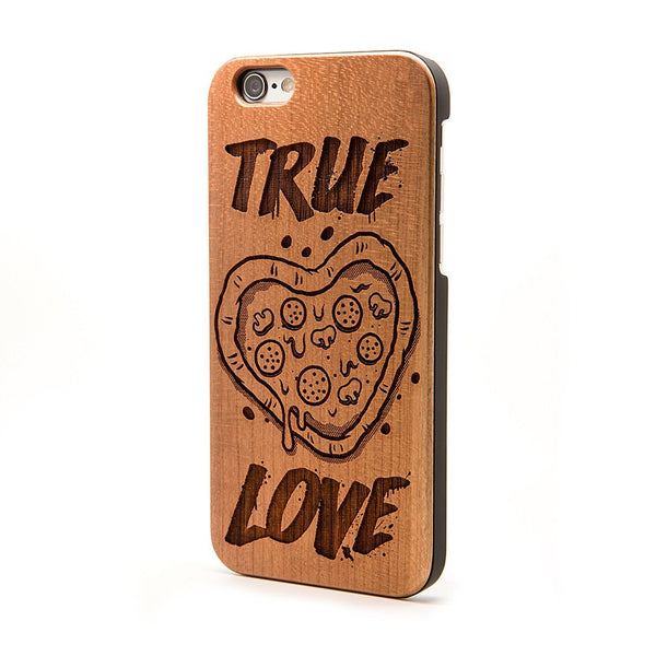 True Love Pizza - iPhone Case - Custom Flesh Plugs & Gauges, Alternative, Tattoo - Phone Cases - 1