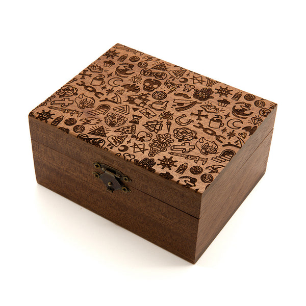 UKCP Pattern - Wooden Jewellery Box
