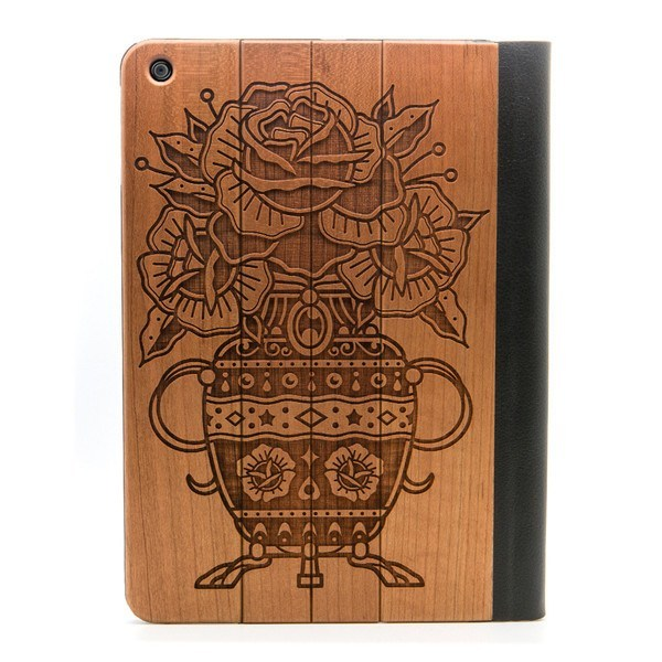 Flower Urn iPad Air Case - Custom Flesh Plugs & Gauges, Alternative, Tattoo - iPad Case - 1
