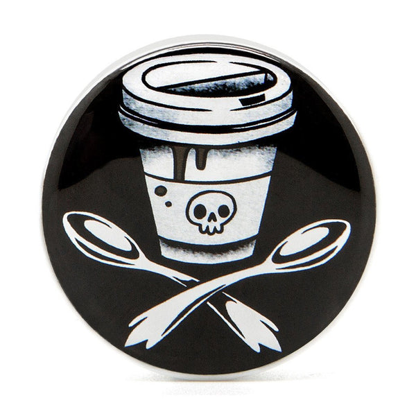 Death Before Decaf - Plug - Custom Flesh Plugs & Gauges, Alternative, Tattoo - Acrylic Plugs - 2