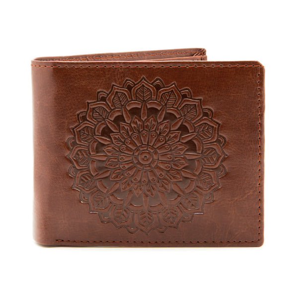 Mandala - Brown Wallet